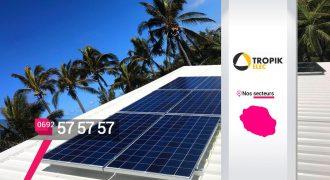 Tropik Elec – Spécialiste panneaux photovoltaïques à Saint-Pierre