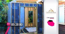 Ossature Bois – Constructeur extension de maison bois au Tampon