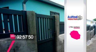 ALUHOME PRODUCTIONS – Spécialiste clôture à Saint-Louis – Réunion