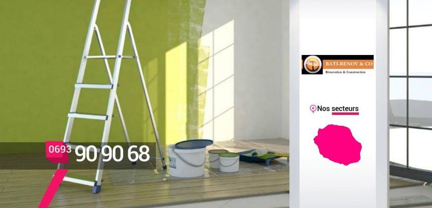 Bati-Renow & Co – Peintre maison appartement à Sainte-Clotilde Réunion