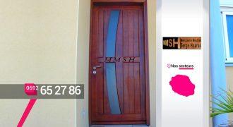 MMSH – menuisier porte au Tampon