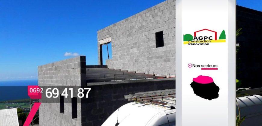 AGPC – Faire construire un garage à Saint-Denis – Réunion