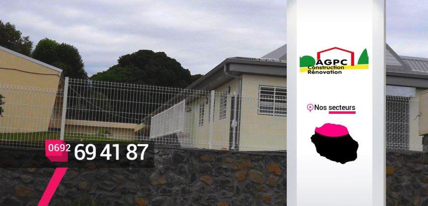 AGPC – Faire construire une clôture à Saint-Denis – Réunion