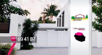 AGPC – Portail extérieur pour maisons à Saint-Denis – Réunion