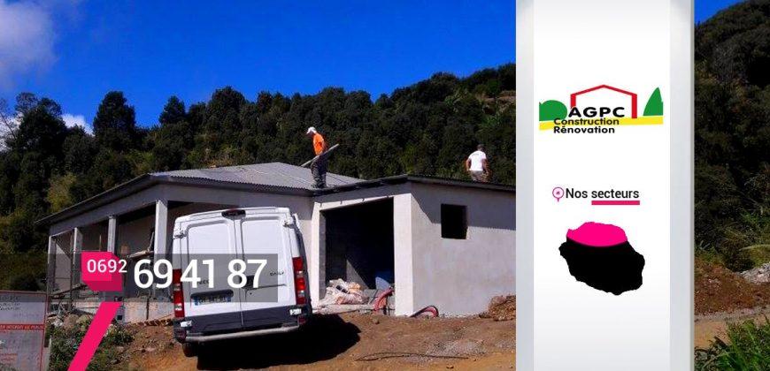 AGPC – Travaux de toiture à Saint-Denis – Réunion