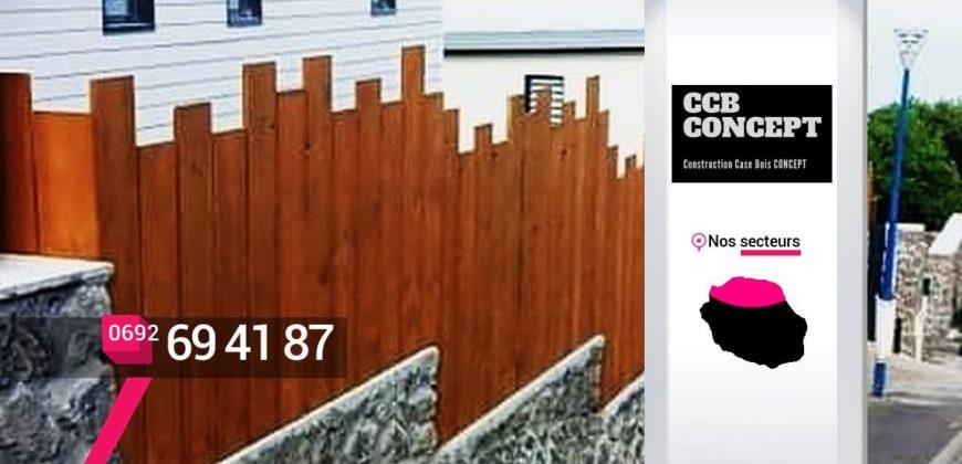 CCB CONCEPT – Artisan création clôture bois Les Avirons – 974