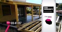 CCB CONCEPT – Artisan création pergolas bois Les Avirons – 974