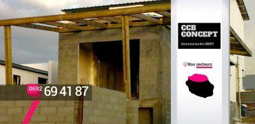 CCB CONCEPT – Artisan extension de maison Les Avirons – 974