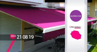 SOREVOE – Store sur mesure au Tampon – Réunion
