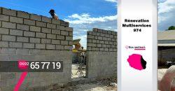 Rénovation Multiservices 974 – Construire des pièces supplémentaire à Saint-Leu