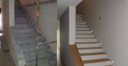 AGJ CONSTRUCTION – Réalisation d'escaliers modernes à Petite-Île
