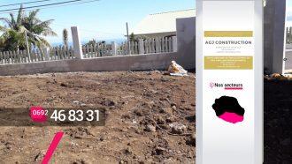 AGJ CONSTRUCTION – Trouver une entreprise de terrassement et fondations à Petite-Île