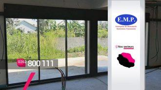 EMP ALUMINIUM – Créateur et installateur de baies vitrées à Bras-Panon