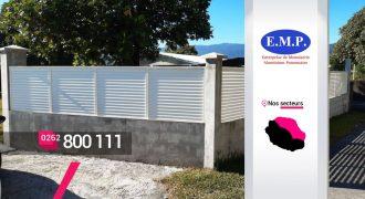 EMP ALUMINIUM – Créateur et installateur de clôtures à Bras-Panon