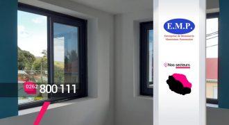 EMP ALUMINIUM – Créateur et installateur de fenêtres à Bras-Panon