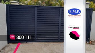 EMP ALUMINIUM – Créateur et installateur de portails à Bras-Panon