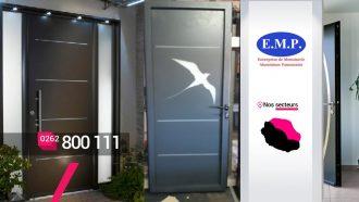EMP ALUMINIUM – Créateur et installateur de portes à Bras-Panon