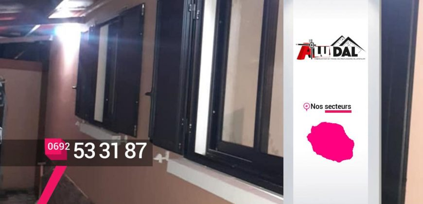EURL ALU-DAL – Fabrication et installation de fenêtres en aluminium à Sainte-Suzanne