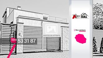 Eurl Alu-Dal – Fabrication et pose de portails en aluminium à Sainte-Suzanne