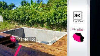 Ekokaz By M2C – Construction de piscines et bassins modernes à Saint-Paul