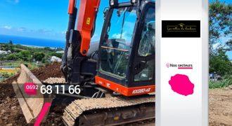 LES VILLAS DU BONHEUR – Entreprise d'excavation et de nivellement à Saint-Denis