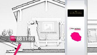 LES VILLAS DU BONHEUR – Peinture et rénovation de murs à Saint-Denis
