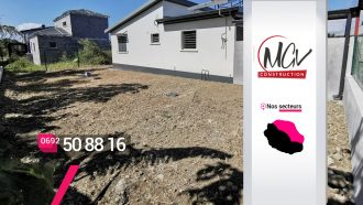 MGV Construction – Artisan terrassier à Saint-André