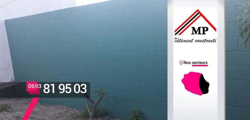 MP Bâtiment Construction – Faire construire des clôtures et murs autour d'un terrain à Saint-Louis