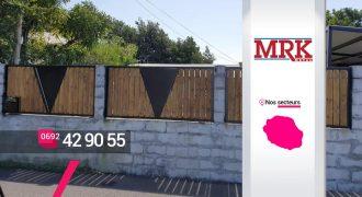 MRK METAL – Conception de clôtures en métal et bois à Sainte-Marie