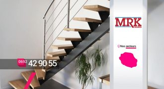 MRK METAL – Constructeur et poseur d'escaliers quart tournant à Sainte-Marie