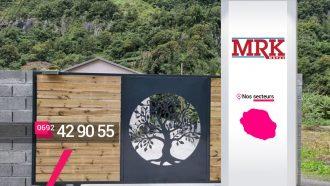 MRK METAL – Créateur de portails en métal ou bois à Sainte-Marie