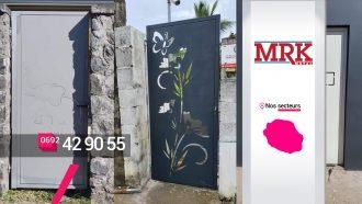 MRK METAL – Réalisation et pose de portes sur mesure à Sainte-Marie
