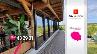 SAV REUNION – Trouver un fabricant poseur de baies vitrées en aluminium à St-Gilles-Les-Hauts